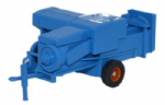 Oxford Diecast 76FARM006 Baler Blue